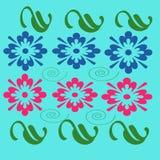 Diseño de las flores Fotografía de archivo