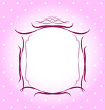 Diseño de las fronteras de los capítulos Imagen de archivo libre de regalías