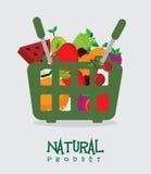 Diseño de las frutas stock de ilustración