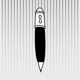 diseño de las fuentes de escuela ilustración del vector