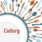 Diseño de las fuentes de la cocina Fotografía de archivo libre de regalías
