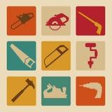 Diseño de las herramientas Imágenes de archivo libres de regalías