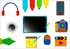 Diseño de las herramientas Fotografía de archivo libre de regalías
