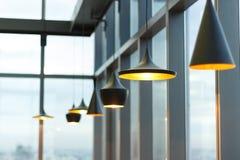 Diseño de las lámparas Fotografía de archivo libre de regalías