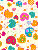 Diseño de las mariposas Imagen de archivo libre de regalías