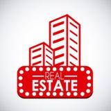 Diseño de las propiedades inmobiliarias Fotografía de archivo