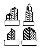 Diseño de las propiedades inmobiliarias Fotos de archivo