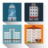 Diseño de las propiedades inmobiliarias Imagenes de archivo