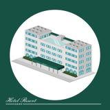 Diseño de las propiedades inmobiliarias Imagen de archivo