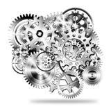 Diseño de las ruedas de engranajes Imagenes de archivo