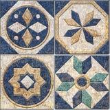 Diseño de las tejas de Digitaces fotografía de archivo libre de regalías