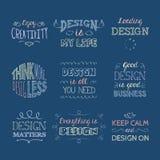 Diseño de letras 9 ilustración del vector