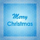 Diseño de letras de la Feliz Navidad Tarjeta del vector Fondo del día de fiesta Foto de archivo libre de regalías