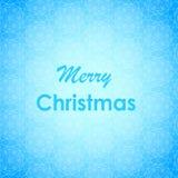 Diseño de letras de la Feliz Navidad Tarjeta del vector Fondo del día de fiesta Fotografía de archivo libre de regalías