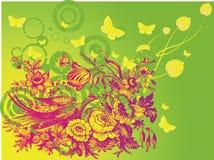 Diseño de los círculos de Grunge Fotos de archivo libres de regalías