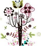 Diseño de los elementos del saludo Imagen de archivo libre de regalías