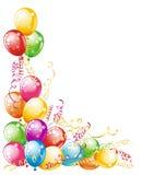 Diseño de los globos Imagen de archivo