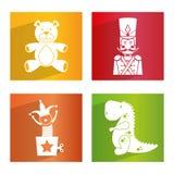 Diseño de los juguetes del bebé Imágenes de archivo libres de regalías