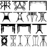 Diseño de los muebles del hogar del escritorio del vector Imagen de archivo libre de regalías