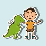 diseño de los niños y de los juguetes Fotos de archivo libres de regalías