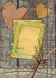 Diseño de los papeles de Grunge en estilo de la desecho-reservación Imagen de archivo libre de regalías