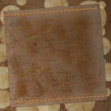 Diseño de los papeles de Grunge en estilo scrapbooking Fotografía de archivo libre de regalías