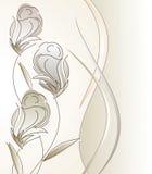 Diseño de lujo del vector para la tarjeta de felicitación Fotos de archivo