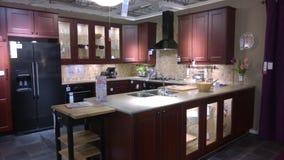 Diseño de lujo moderno de la cocina