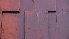 Diseño de madera antiguo de la puerta en Asia foto de archivo