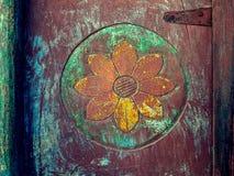 Diseño de madera tallado Fotos de archivo libres de regalías