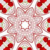 Diseño de Mandala Kaleidoscopic Imágenes de archivo libres de regalías