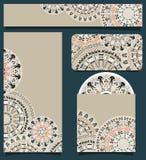 Diseño de marcado en caliente con Art Pattern tribal Fotografía de archivo libre de regalías