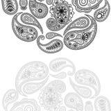 Diseño de Paisley Foto de archivo libre de regalías