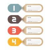Diseño de papel del precio tag.vector stock de ilustración