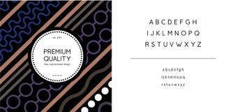 Diseño de paquete africano picante de la sensación Foto de archivo libre de regalías