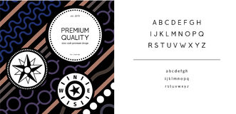 Diseño de paquete superior picante de la calidad Foto de archivo libre de regalías