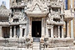 Diseño de piedra del modelo del templo Foto de archivo