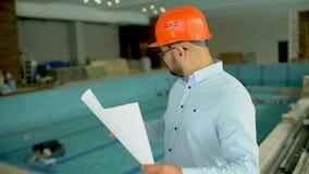 Diseño de piscinas almacen de video