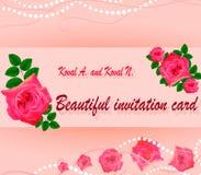 Diseño de postales, cubiertas, invitaciones Fotografía de archivo libre de regalías