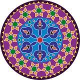 Diseño de Rangoli Foto de archivo libre de regalías