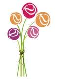 Diseño de Rose Imagen de archivo libre de regalías