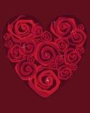 Diseño de Rose Imagenes de archivo
