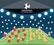 Diseño de Rusia del mundial del fútbol stock de ilustración