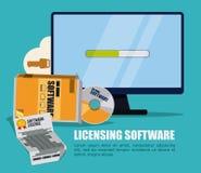 Diseño de software Fotos de archivo