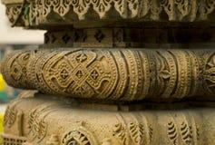 Diseño de talla de piedra foto de archivo libre de regalías
