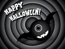 Diseño de tarjeta de Halloween Fotos de archivo libres de regalías