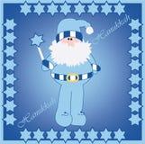 Diseño de tarjeta de Hanukkah Harry ilustración del vector