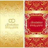 Diseño de tarjeta de la invitación Fotos de archivo