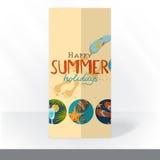 Diseño de tarjeta de la invitación del partido, plantilla libre illustration