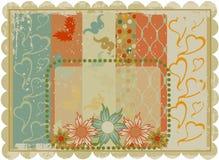 Diseño de tarjeta de la vendimia Imagen de archivo